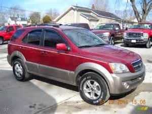 2004 Kia Sorento Ex Ruby Metallic 2004 Kia Sorento Ex Exterior Photo