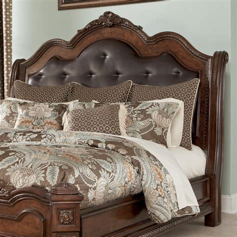 millennium ledelle king cal king sleigh headboard with