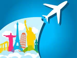 airplane holiday ppt backgrounds transportation travel