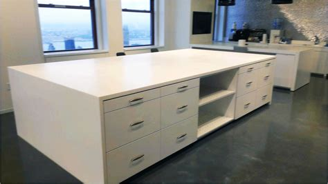 how to make an island work in a small kitchen hamilton casework solutions the storage team