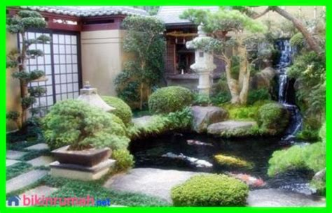 desain kolam ikan minimalis depan rumah  cantik httpwwwbikinrumahnetdesain