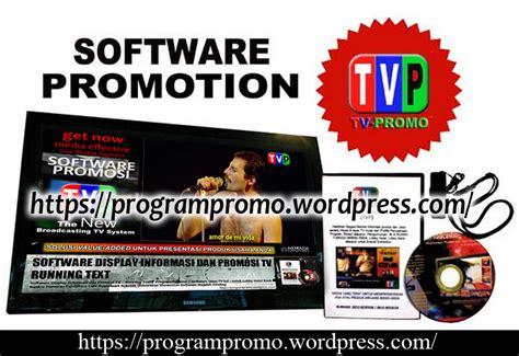 Tv Lcd Di Hypermart software display informasi dan promosi tv