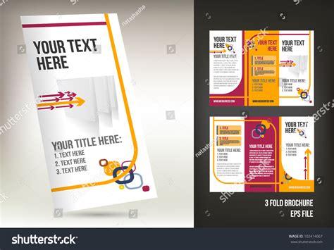 3 column brochure template 3 column brochure template pertamini co