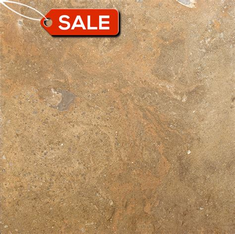 desert blend 18x18 honed travertine tile clearance item