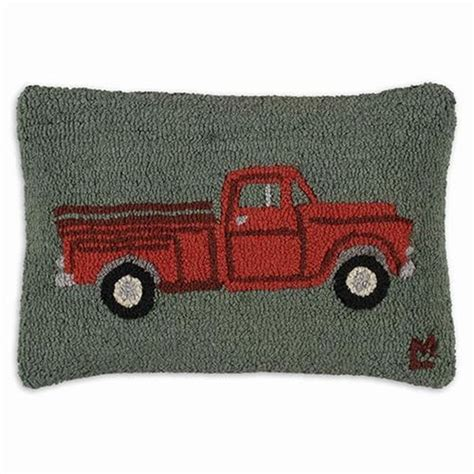 Truck Rugs by Truck Hooked Rug Pillow Products I