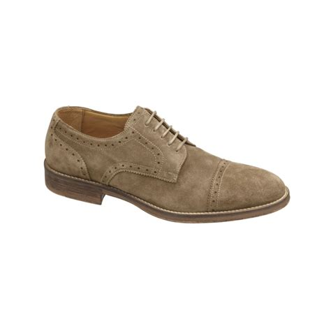 johnston murphy shoes lyst johnston murphy mcpherson cap toe lace up shoes