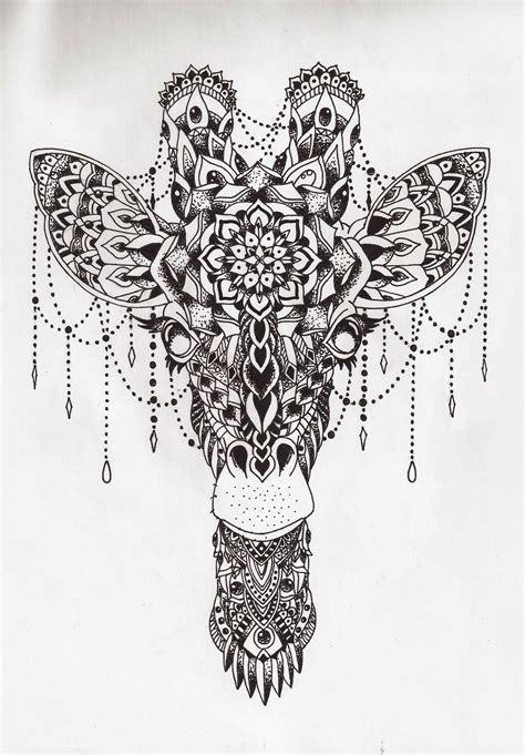 underline tattoo designs mandala giraffe million feed