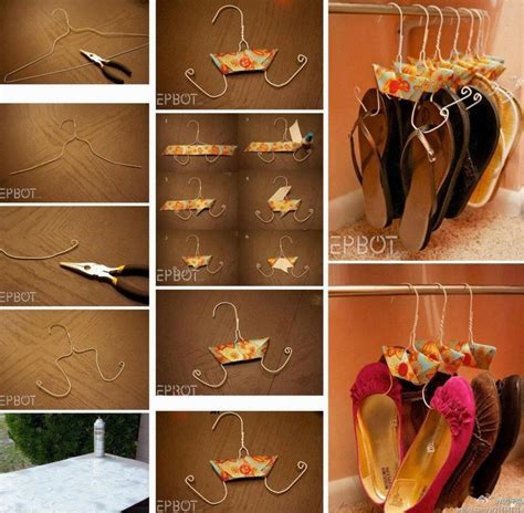 shoe hanger diy how to make hanger to store shoes step by step diy