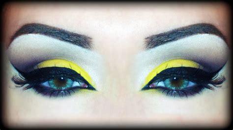 Valege Eye Shadow Brown Yellow yellow brown fall arabic makeup tutorial inspired by samways
