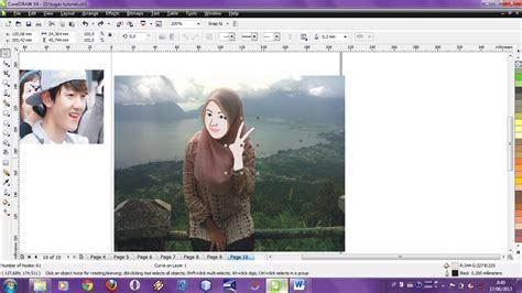 tutorial edit foto corel draw x4 tutorial coreldraw x4 merubah foto sendiri menjadi kartun