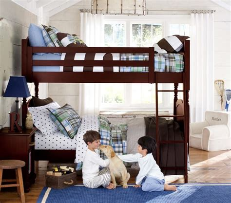 pottery barn kids bunk bed catalina twin over twin bunk bed pottery barn kids
