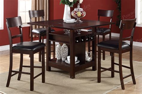 High Kitchen Table With Stools by High Kitchen Table And Chairs Dining Chairs
