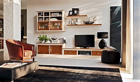 soggiorno classico le fablier le fablier zona giorno mobili il castagno