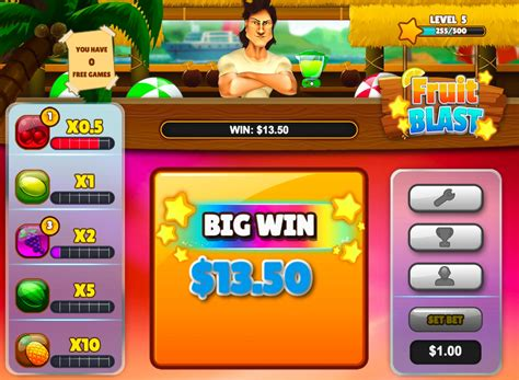 Free Slots Win Money - casino skill game fruit blast