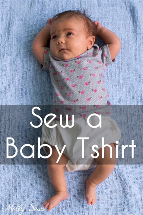 infant t shirt pattern free sew a baby tshirt with free pattern melly sews