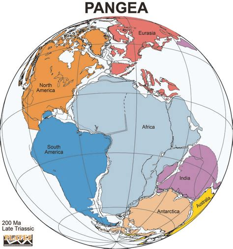 map world before apart pangea was a supercontinent that existed about 300 million
