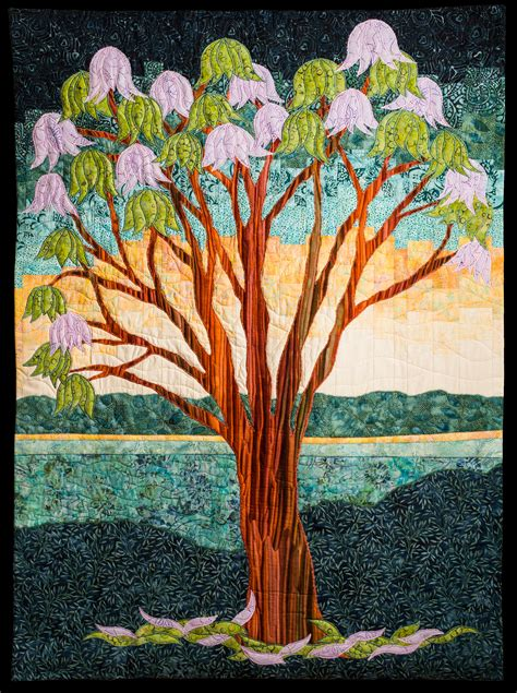 jacaranda tree quilt quilts by jen