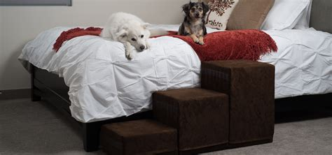 dog stairs for tall beds tall dog stairs for bed usa made royal rs dog beds and