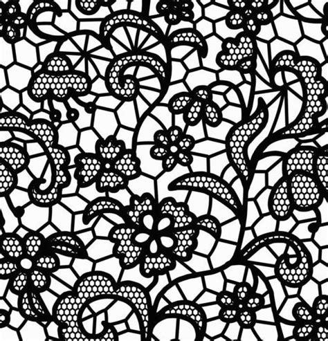 pattern lace vector beautiful lace black pattern vector 04 vector pattern