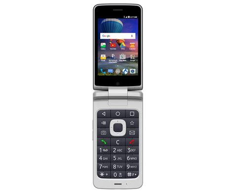 zte cymbal     android flip phone