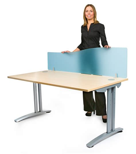 Office Desk Divider Acrylic Desk Screen With Wave Shape Desk Divider Office Partition