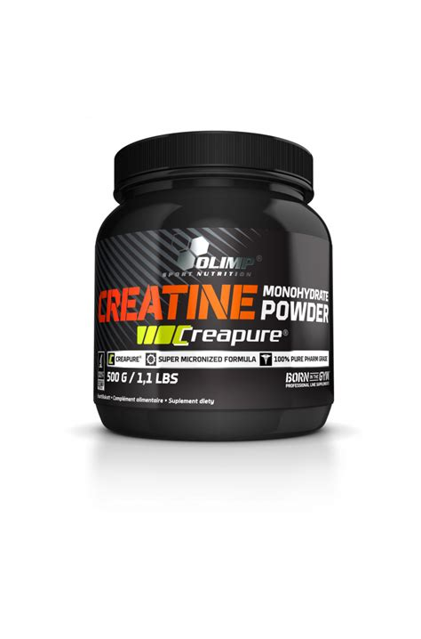 creatine a 8 olimp creapure powder 500g