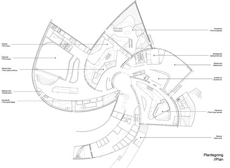 Aquarium Design Drawing | enric miralles drawings google search duc addition