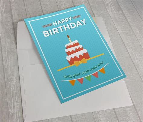 Illustrator Birthday Card Template by Birthday Greeting Card Design In Adobe Illustrator