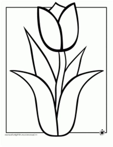 flower coloring pages easy easy flower coloring pages coloring home
