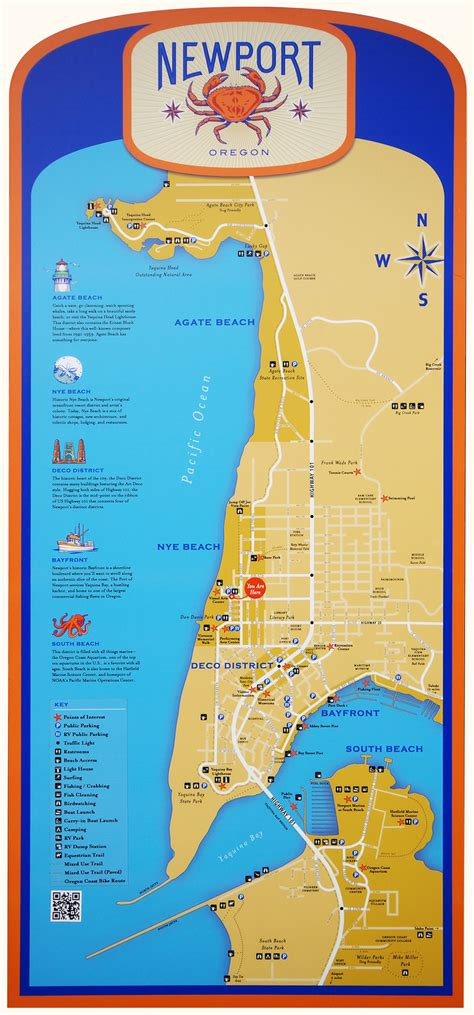 map of oregon newport newport things to do on the central oregon coast wilder