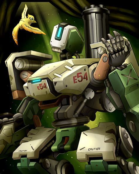 Poster Overwatch 08 overwatch poster bastion by andrewmartind on deviantart