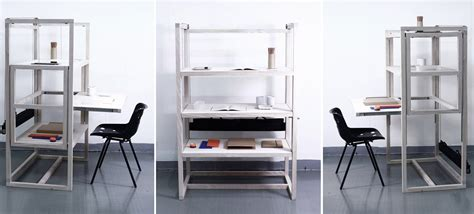 Desk And Shelving Units by The Family Work Surface Three Desks One Shelving