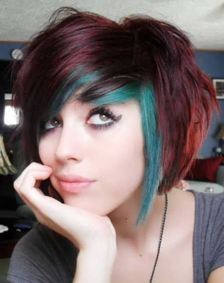 colorful short haircut hair color for short hair 2014 short hairstyles 2017