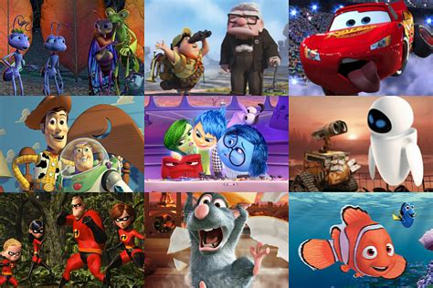 best pixar 16 pixar ranked from best to worst