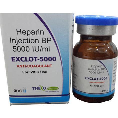 Inviclot Heparin Sodium Injection anti coagulent heparin injection bp 1000 iu ml 5000 iu ml manufacturer from navi mumbai