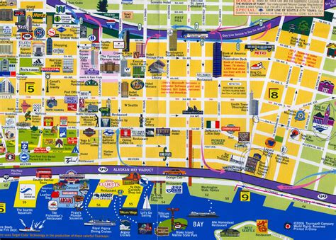 seattle map with hotels object moved