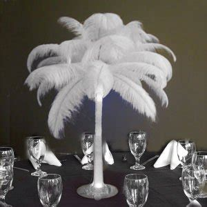 Ostrich Feather Vases by Ostrich Feather Centerpieces Favors Ideas