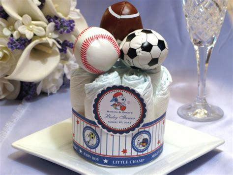 Sports Baby Shower Decorations by Baby Shower Sports Theme