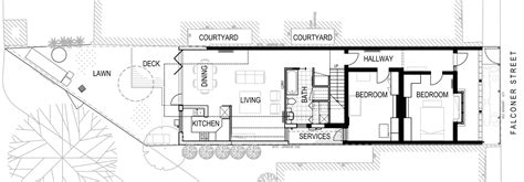 mountain architecture floor plans gallery of fitzroy north residence chan architecture 13