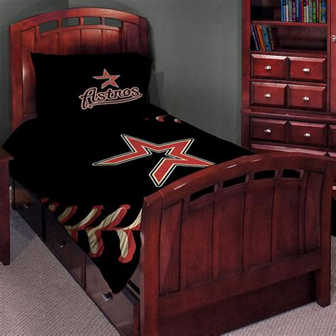 houston astros mlb twin comforter set 63 quot x 86 quot