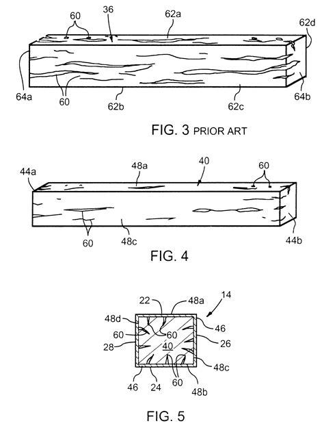 patent us6336265 composite railroad cross tie and method