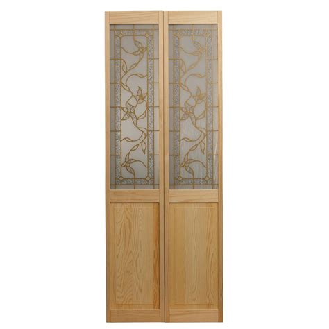pinecroft 30 in x 80 in glass over panel tuscany wood pinecroft 30 in x 80 in tuscany decorative glass solid