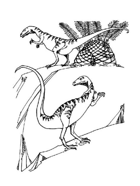 coloring pages of prehistoric animals prehistoric carnivor coloring pages hellokids com