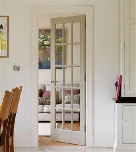 pine clear pre glazed interior door