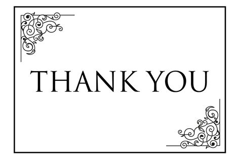 Thank You Cards Template Pdf by Thank You Card Printable Calendar Template Letter Format