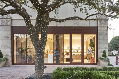 celine comes to texas interior design stores dallas texas famed french fashion label finds a texas home highland