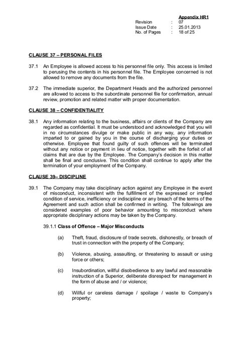 Appointment Letter Clauses Handbook Eng Version Rev2 Jan13