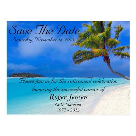 Beach Party Invitation Templates Hot Girls Wallpaper Retirement Save The Date Template