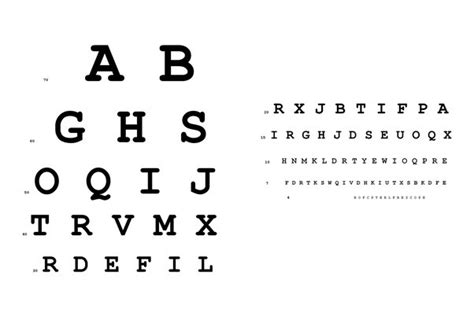 printable landolt c eye chart in eye tests today which chart do the doctors prefer to