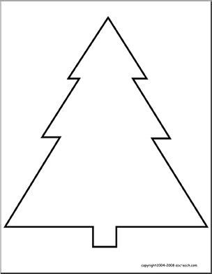 coloring page of evergreen tree coloring page evergreen abcteach